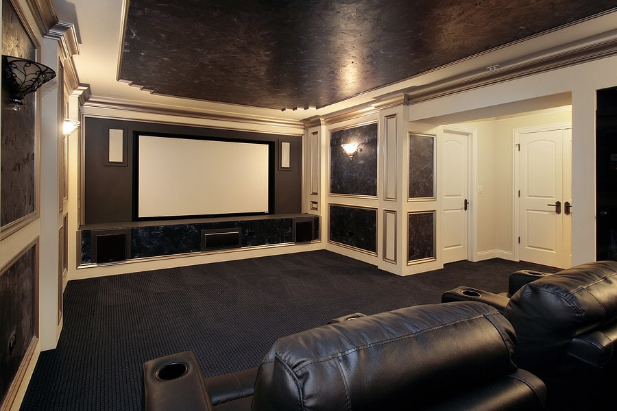 South Shore Basement Finishing - Home Theater Service